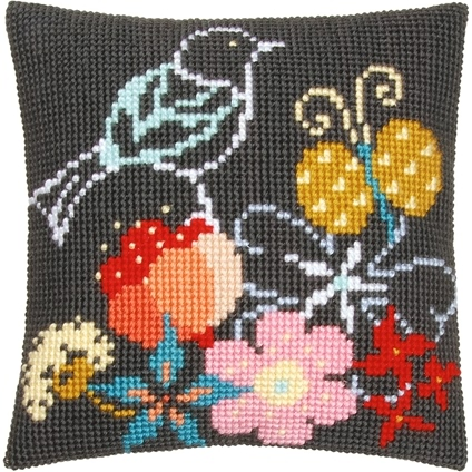 Bird and Butterfly Cushions