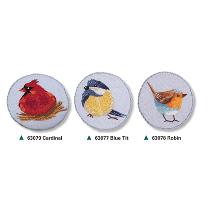 Bird Brooches