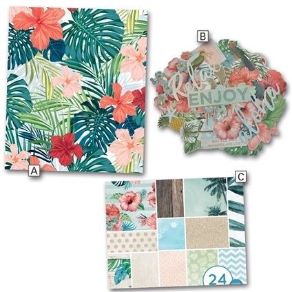 Paradise Decorative Papercrafts