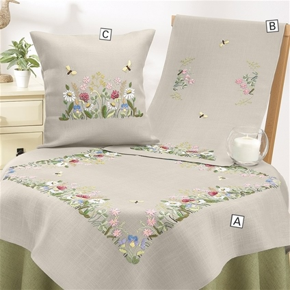 Meadow Flowers Table Linen