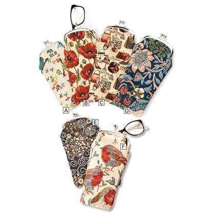 Tapestry Eyeglass Cases
